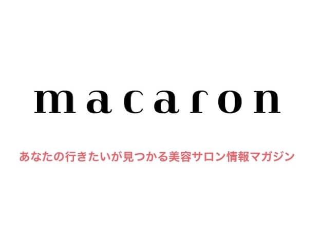 阿部辰也/【macaronマカロン】に特集記事が掲載されました