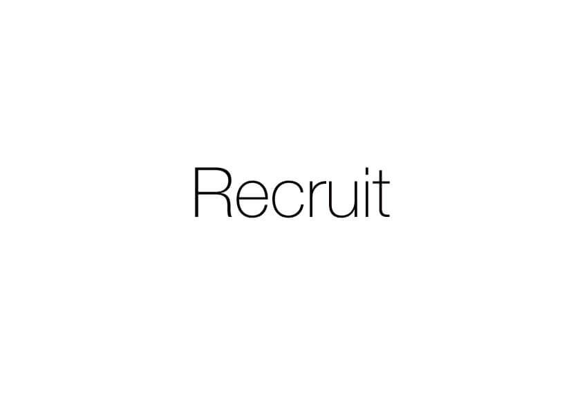 RECRUIT-スタイリスト/アシスタント-求人募集 姫路 美容室