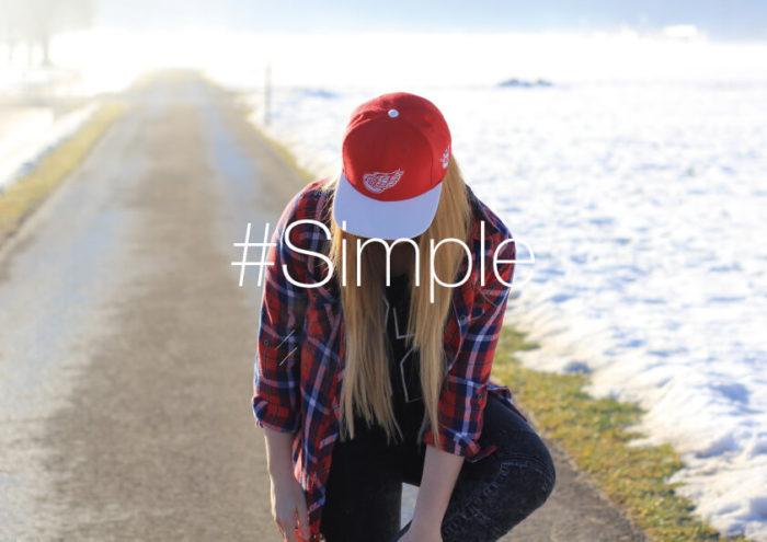 「Simple」をよりオシャレに