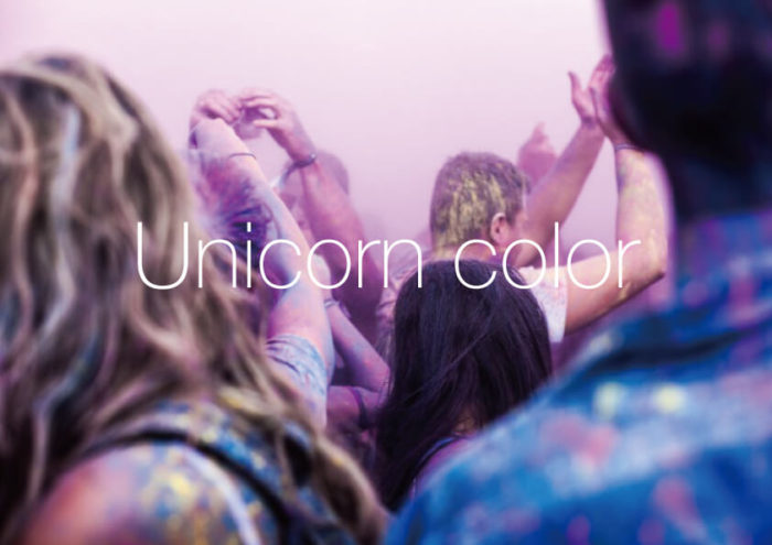 Unicorn color