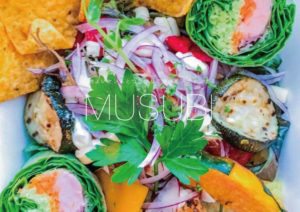 BURRITO BOWL ¥1,000「DESIGN LUNCH by MUSUBI project」BUENA VISTA × sowi hair design