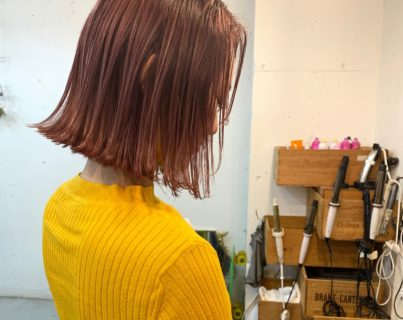 ブリーチの箸休め的なピンクカラー【@sowi_abe】